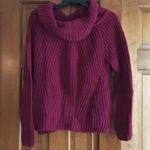 Express cowl next sweater